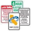 Semi-Custom California Traffic And Parking Signs