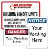 Custom Design Safety Signs