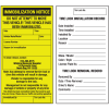 Custom Immobilization Labels