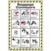 Conveyor Safety Poster - Baggage Conveyor Safety