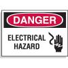 Hazard Warning Labels - Danger Electrical Hazard