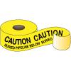 Underground Warning Tape - Caution Buried Pipeline Below