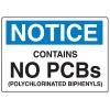 PCB Labels - Notice No PCBs