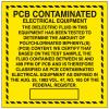PCB Labels - PCB Contaminated