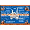 Forklift Operation Workplace Safety Wallchart