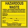 Hazwaste Container Labels - Hazardous Waste