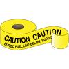 Underground Warning Tape - Caution Buried Fuel Line Below