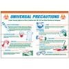 Universal Precautions Workplace Safety Wallchart