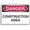 Extra Large OSHA Signs - Danger - Construction Area