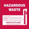 Drum Identification Labels - Hazardous Waste