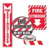 Fire Equipment Marking Kits - Fire Extinguisher