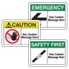 Custom ANSI Safety Signs
