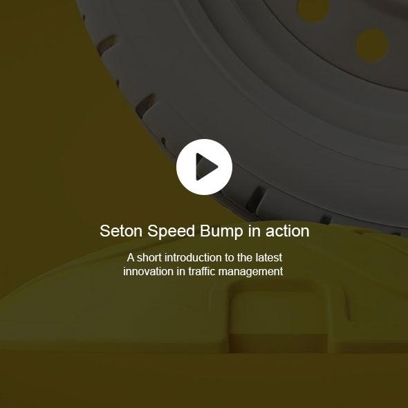 Seton Speed Bump in action